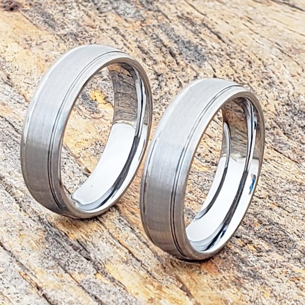 turbo-brushed-womens-tungsten-rings