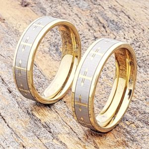 unisex-mens-womens-flat-gold-cross-rings