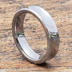 valley concaved womens tungsten rings