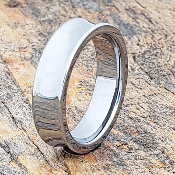 valley-concaved-womens-tungsten-rings-6mm