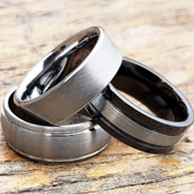 tungsten wedding bands